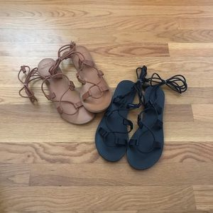 Abercrombie • 2 Pairs of Gladiator Sandals